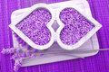lavender as an herbal deodorant