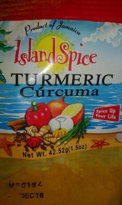Turmeric in a Package