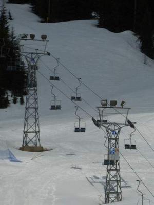 Cypress Mountain Ski Area, B.C., Canada